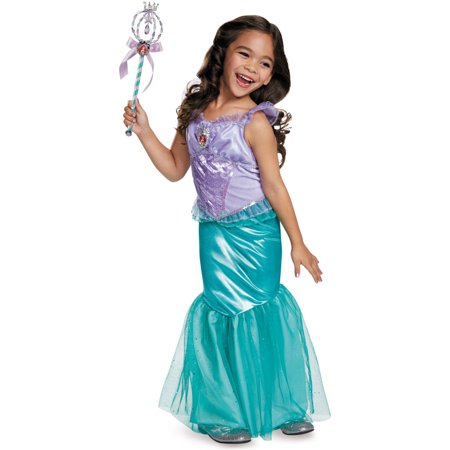 The Little Mermaid Ariel Deluxe Child Halloween Costume - Mermaid Halloween Costume Child