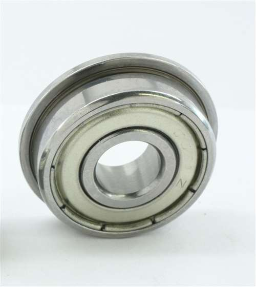 "1//4/"" x 5//8/"" x 0.1960/"" FR4zz Flange Metal Double Shielded Ball Bearing 5 PCS"