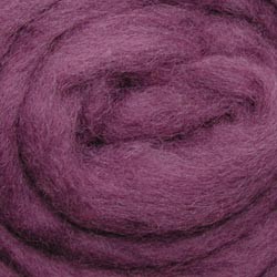 "Wistyria Editions Wool Roving 12"" .22oz-Lilac Haze"