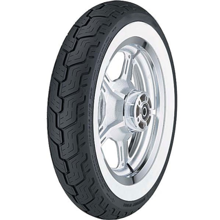 Dunlop D402 White Sidewall Touring Rear Tire MT90B16