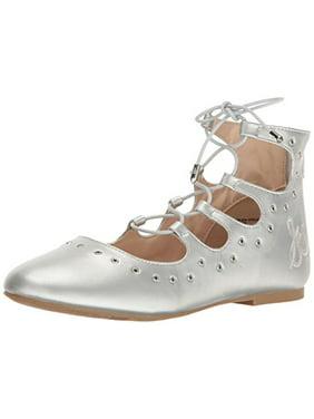 a79ad7198b6 Product Image Sam Edelman Kids Girls  Felicia Stella Eyelet Ballet Flat