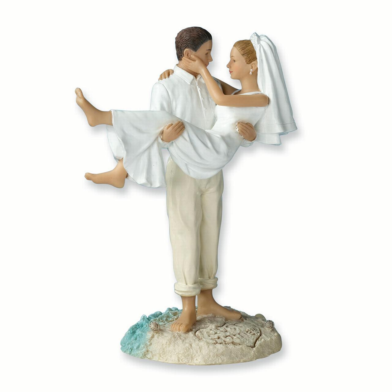 Lillian Rose Just Married Beach Couple Figurine/cake Topper Gifts For Women For Her