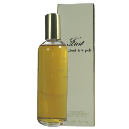 Arpels Van (First Eau De Parfum Spray 3.0 Oz / 90 Ml Refill for Women by Van Cleef & Arpels )