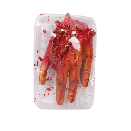 Fake Organs (Halloween Fake Heart Brain Organ Haunted House Blood Horror Props)