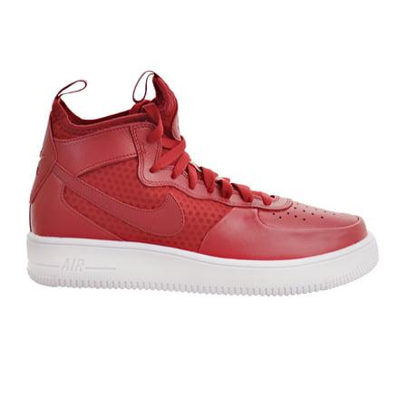 Nike Air Force 1 Ultraforce Mid Hombres Rojo Blanco zapatos Gimnasio Rojo Hombres c7903e