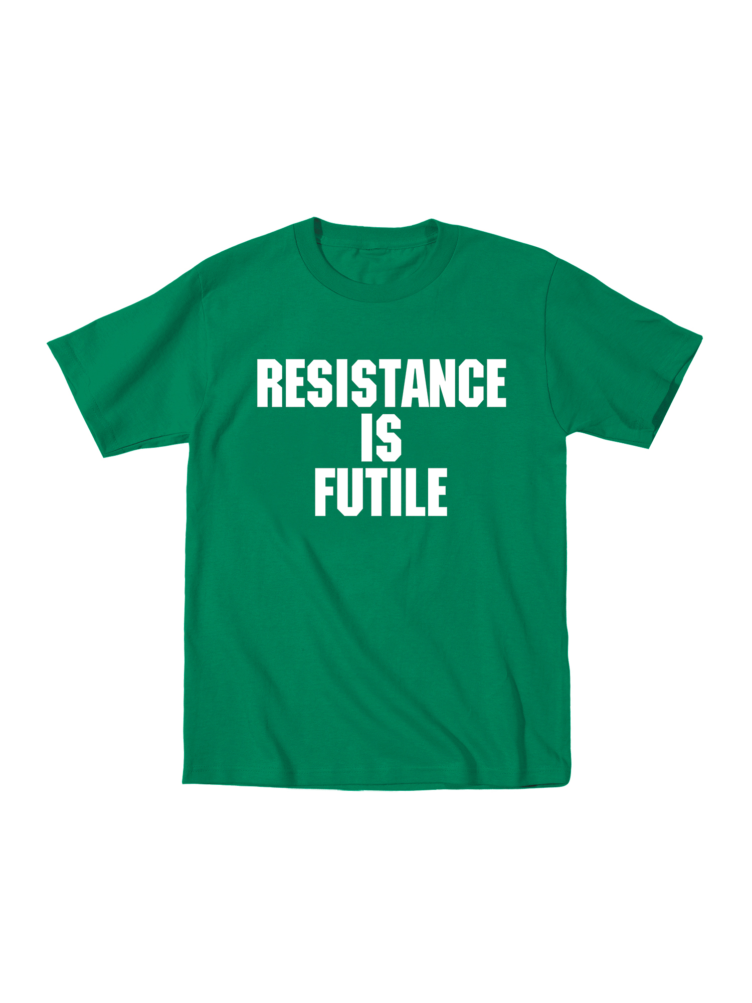 Resistance Is Futile Funny Toddler Tshirt