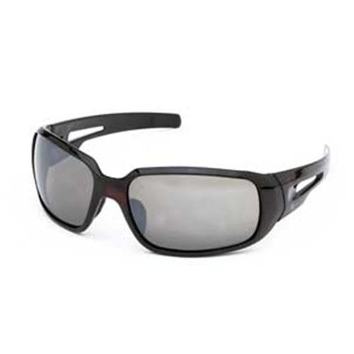 Body Specs BONITA DEMI. 4 Ms.  Diva Bonita Sunglasses with Demi Frame and Brown Lens