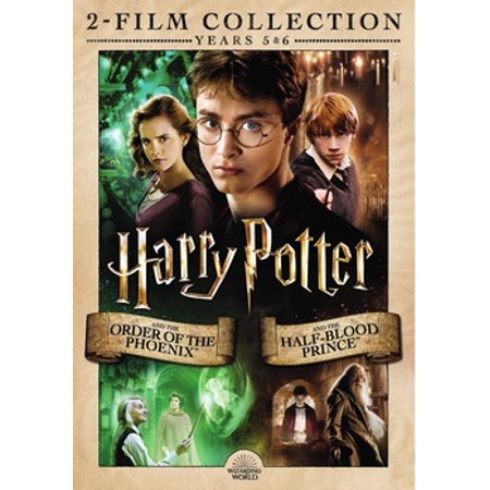 HARRY POTTER-ORDER OF PHOENIX/HALF-BLOOD PRINCE (DVD/YEARS 5&6/2 FILM COLL) (DVD) (Halloween Order Films)