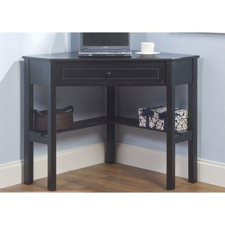 Simple Corner Desk Black