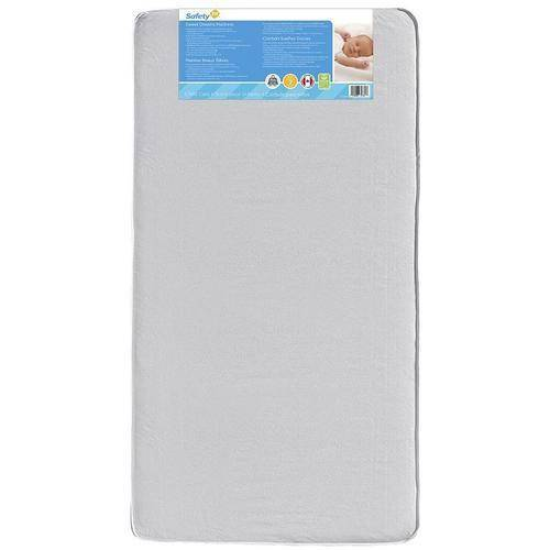 Safety 1st Sweet Dreams Baby and Toddler Crib Mattress, Thermo-Bonded Core