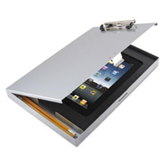 Saunders 45450 Storage Clipboard with iPad 2nd Gen 3rd Gen Compartment, Silver