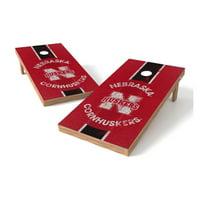 TTXL Shield College Heritage Nebraska Cornhuskers Bean Bag Toss Game