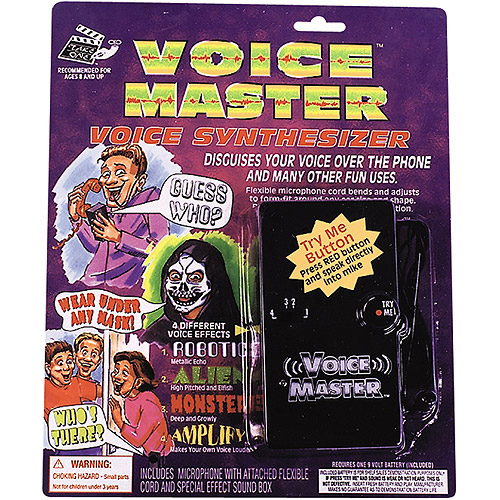 Fun World 9V Voice Modifier