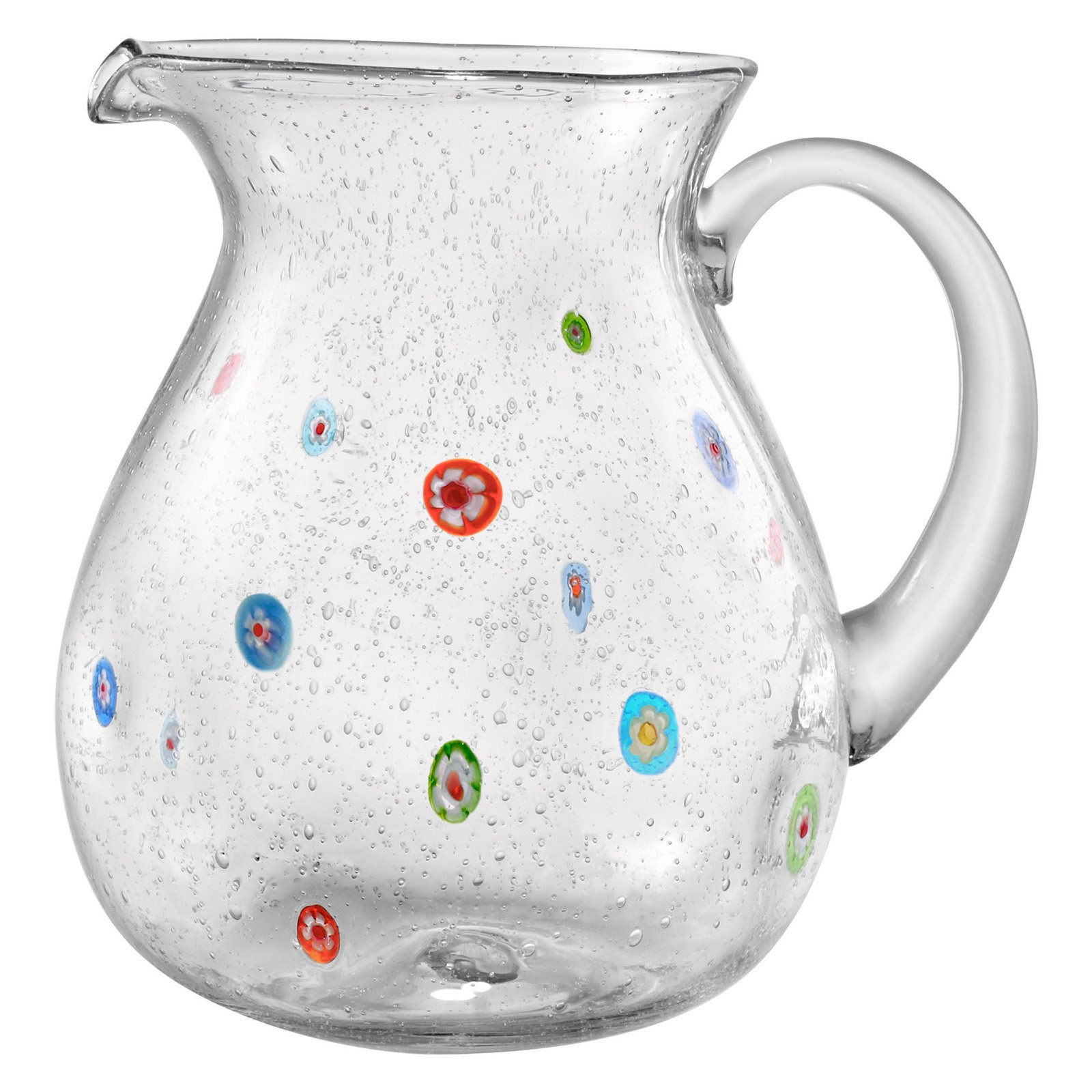 Artland Inc 70 oz. Fiore Glass Pitcher