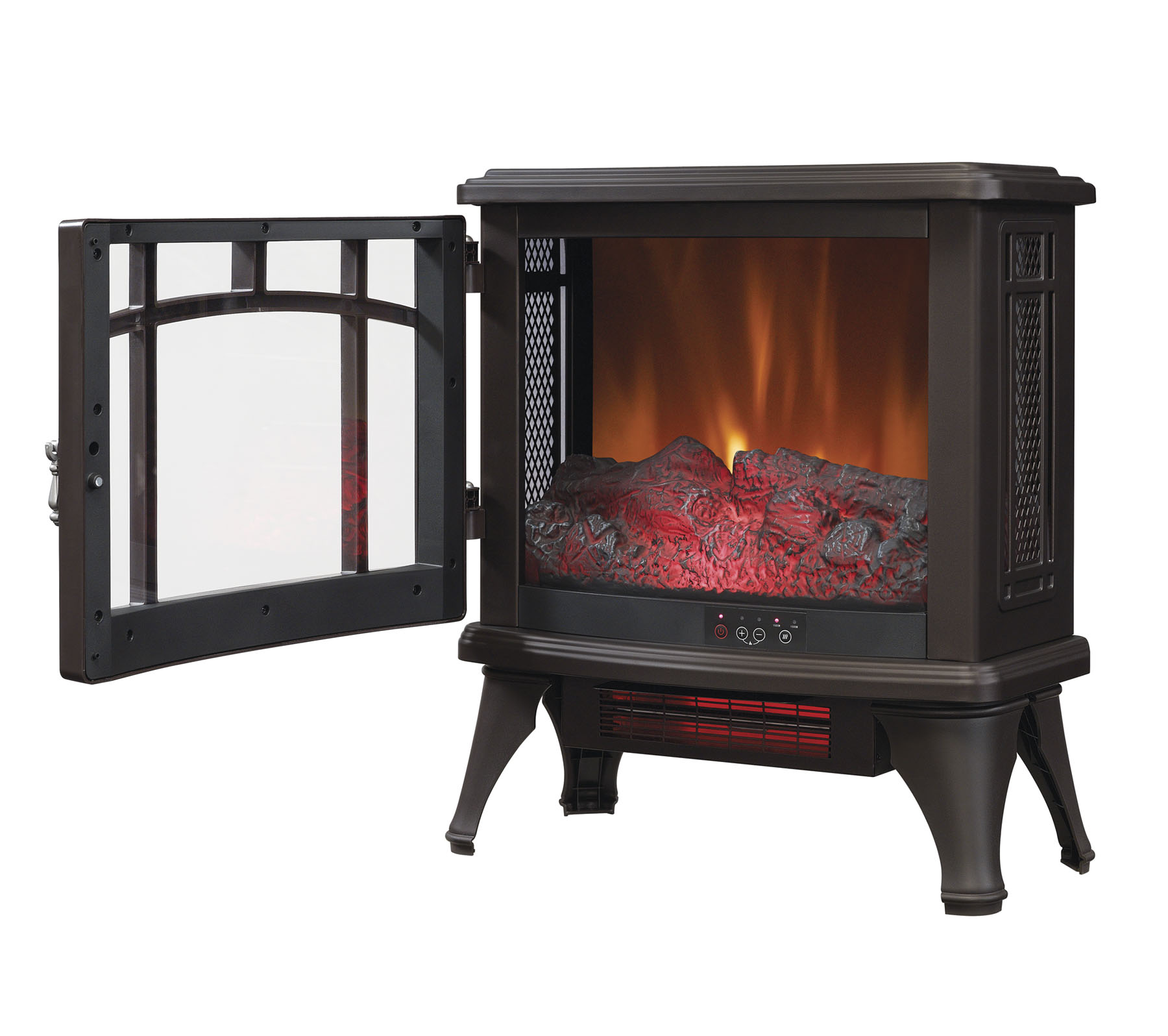 Cool Duraflame Infrared Quartz Fireplace Stove Bronze Interior Design Ideas Gentotryabchikinfo