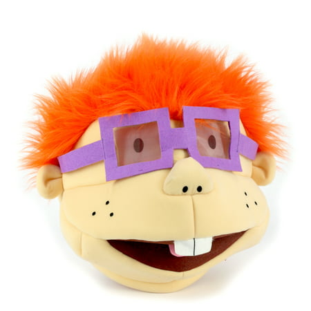Maskimals Oversized Plush Halloween Mask - Chuckie - Creepy Vintage Halloween Masks