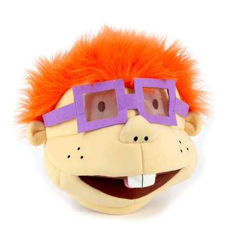 Maskimals Oversized Plush Halloween Mask - Chuckie (Jerry Seinfeld Halloween Mask)