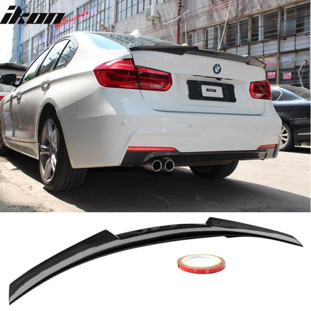Fits 12-19 BMW 3-Series F30 F80 M4 Style Trunk Spoiler Lip Wing - CF