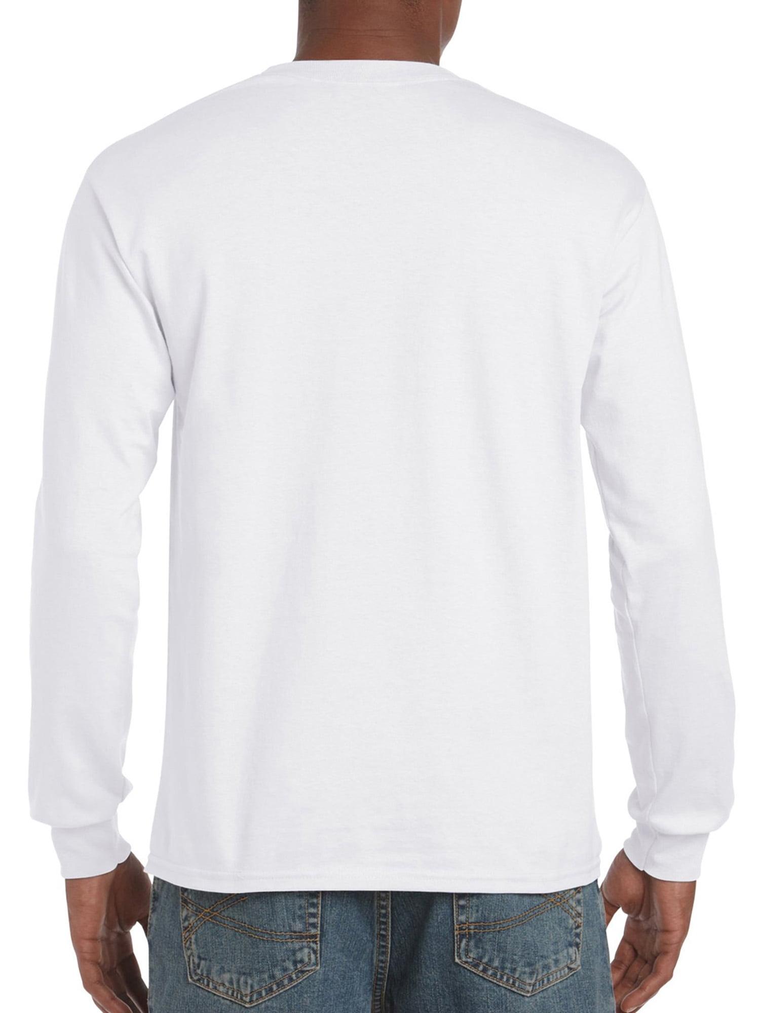 Mens Ultra Cotton Adult Long Sleeve T-Shirt
