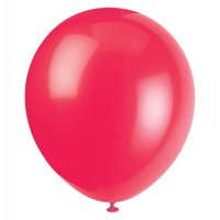 Latex Balloons, 12in, 72ct (Reds, Pinks, & Purples)