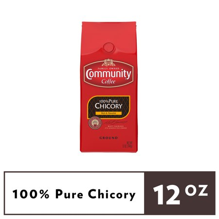 Community Coffee® 100% Pure Chicory Ground Coffee 12 oz. Stand Up Bag 100% Pure Instant Coffee