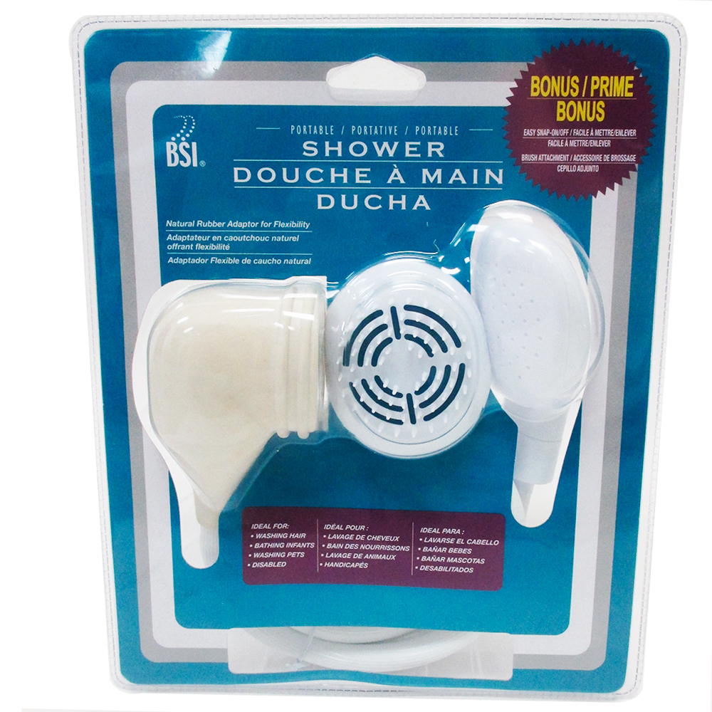 Shower Portable Adaptor Spray Handheld Bathtub Tub Hose Sprayer Kids Pets  Brush   Walmart.com