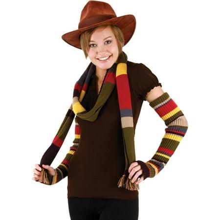 Halloween Makeup Easy Hand (The 4th Doctor Brown Hat Adult Halloween)