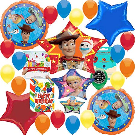 Toy Story 4 Party Supplies Balloon Decoration Deluxe balloon set](Toy Story Balloon Decoration)