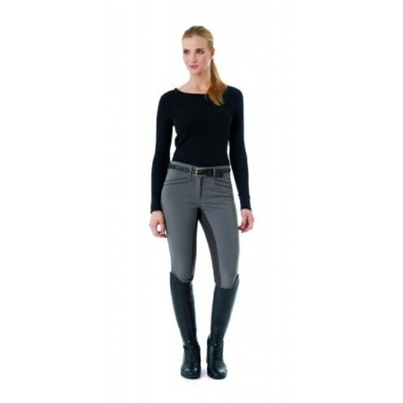 Ovation Women's Celebrity Slim Secret Full Seat Euroweave Dx Breeches Taupe 30 R (Ovation Celebrity Slim Secret Full Seat Breeches)