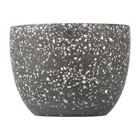 "Better Homes & Gardens Terrazzo 8"" Round Planter"