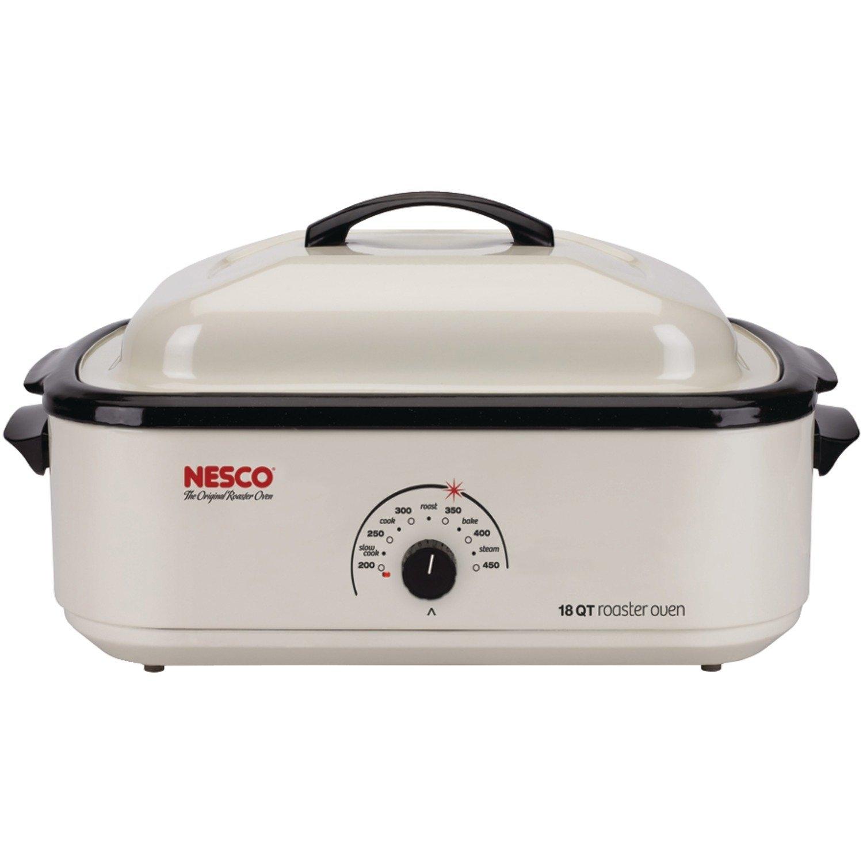Nesco 4818-14-30, 18-Quart Ivory Roaster Oven
