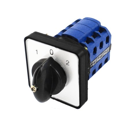 AC600V 12A Rotary Cam 3Pole 3Position Universal Combination Switch - image 3 of 3