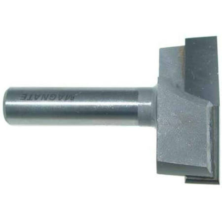 Magnate Surface Planing (Bottom Cleaning) Router Bit, 2-Inch Cutting Diameter, 1/2-Inch Shank Diameter, - Bottom Drill