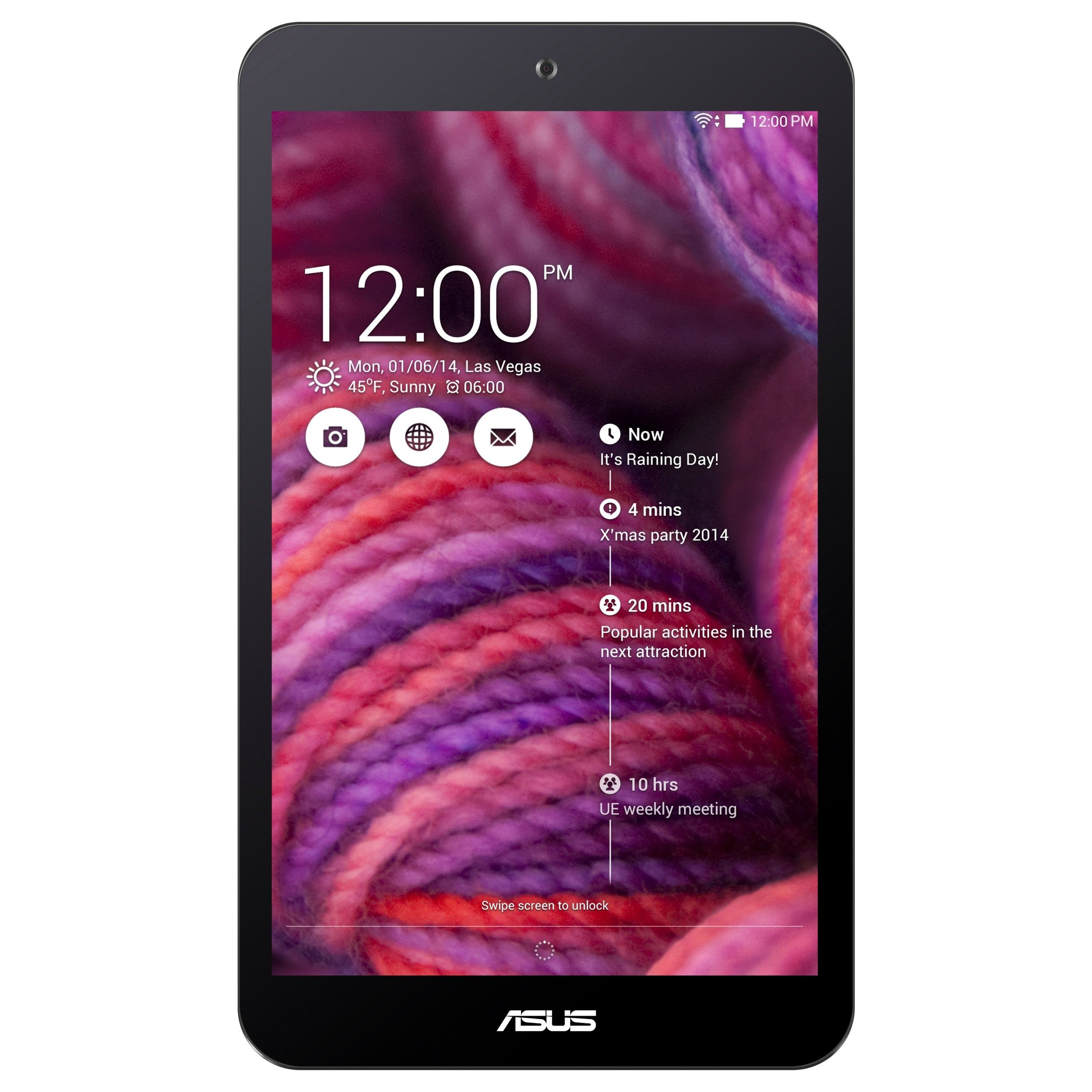 "Asus Me181c-a1-pr Purple/8""/1gb Ddr3l/16"