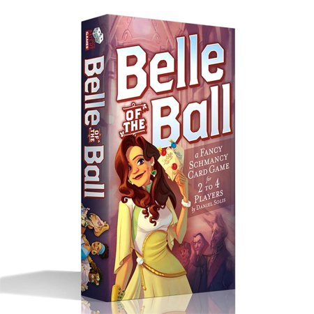 Belle of the Ball Fast Paced Multi-Player Interactive Board Game Dice Hate Me DHMBELL Belle Beast Games