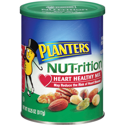 Planters Heart Healthy NUT-rition Mix, 18.25 oz