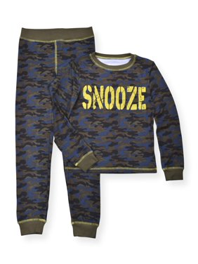 Sleep On It Toddler Boys Long Sleeve Pajamas, 2pc Set (2T-4T)