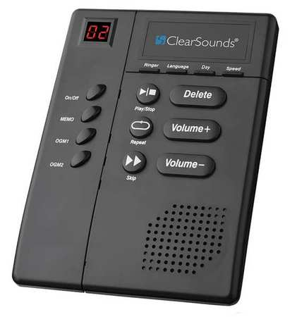 CLEARSOUNDS ANS3000 Answering Machine, Accessory, Black