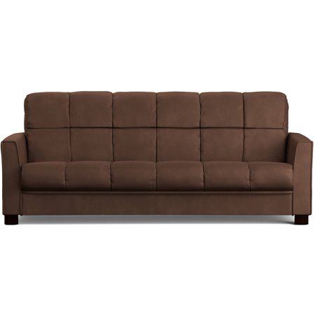 Mainstays Baja Futon Sofa Sleeper Bed, Multiple (Contemporary Full Sleeper)