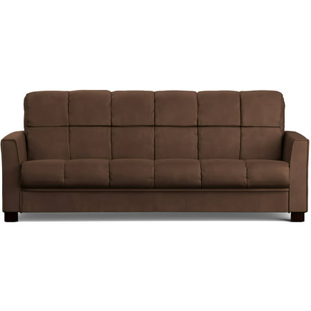 Mainstays Baja Futon Sofa Sleeper Bed, Multiple (Contemporary Leather Sleeper Sofas)