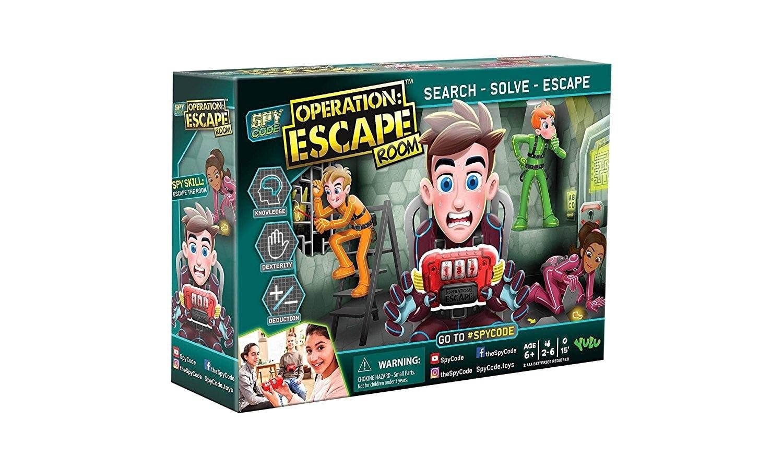 Yulu Spy Code Escape Room (2-6 player)