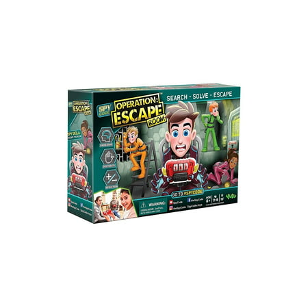Yulu Spy Code Escape Room (2-6 player)](Halloween Night Escape Game)