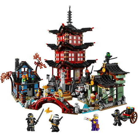 Lego Ninjago Temple Of Airjitzu 70751 Walmart