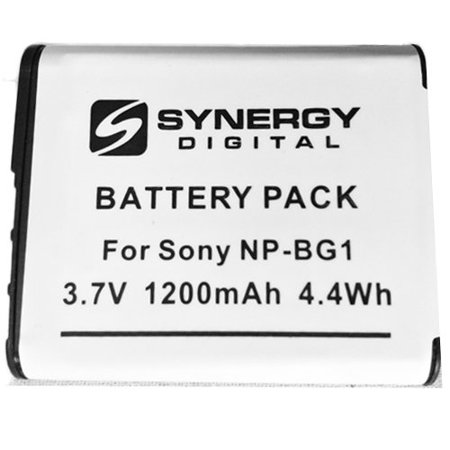 Sony Cyber-shot DSC-HX30V Digital Camera Battery Lithium-Ion (3.7v, 1200mAh) - Replacement for Sony NP-BG1, NP-FG1