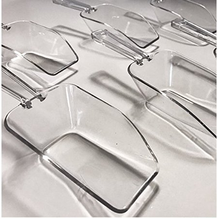 Craft and Party Clear Acrylic Plastic 6.5