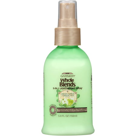 Garnier Whole Blends Refreshing 5-in-1 Lightweight Detangler Spray 5 FL OZ - Light Detangler Spray