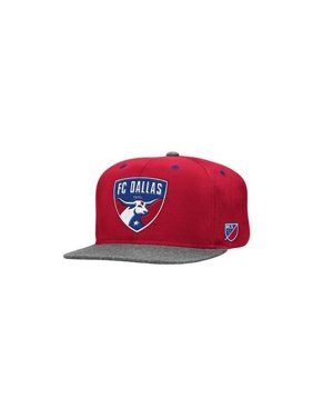 online store cb0dc 9a623 Product Image adidas Men s FC Dallas Authentic Snapback Cap ONE SIZE DARK  RED