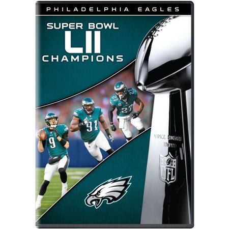 Philadelphia Eagles NFL Super Bowl 52 Champions (DVD) - Super Bowl Team Colors