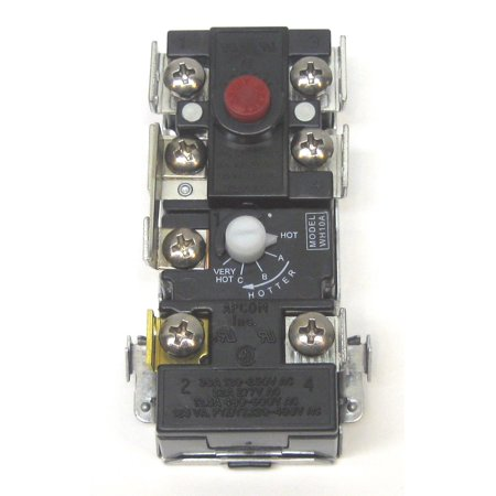 WH10A Apcon Electric Water Heater Thermostat for Upper Element Thermodisc WH6-4 (Water Heater Thermostats Ao Smith)