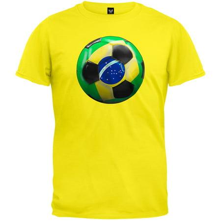 World Cup Brazil Soccer T-Shirt Brazil Soccer World Cup